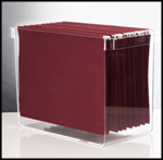 Streamlined Space, Acrylic Hanging File Organizer