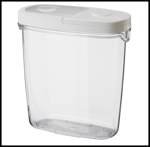 Streamlined Space, IKEA Food Jar with Lid