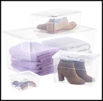 Streamlined Space, TCS Clear Storage Boxes