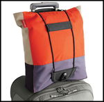 Streamlined Space, The Container Store, TCS, Travel Bag Bungee